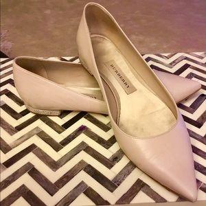 Burberry ballet flat shoes